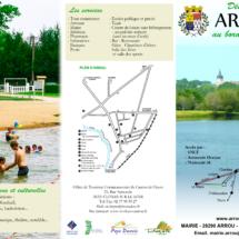 dépliant tourisme Arrou