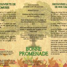 Dépliant écomusée de la Haie - Châtillon en Dunois (28)