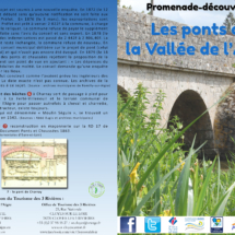 Dépliant Route des Ponts - La Ferté-Villeneuil (28)